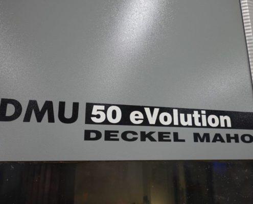 Ansicht Deckel DMU 50